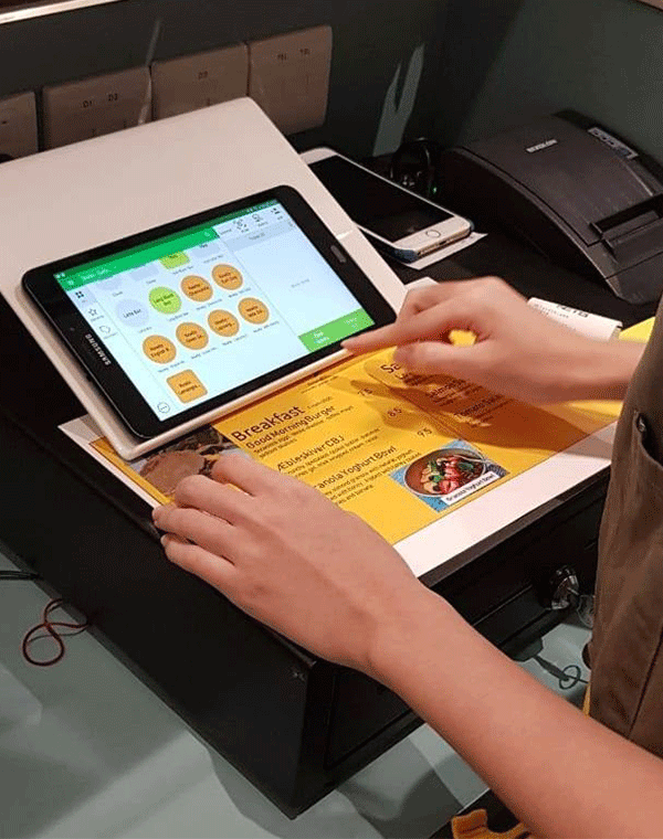 An image to showcase an easy-to-use POS software interface