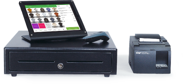 An image of our POS software
