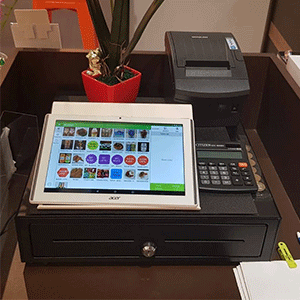 Our POS software installed at a fashion retail store