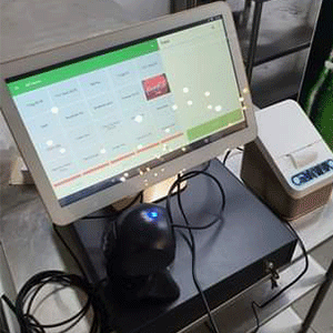 An image of our POS software installed at Eng Kee West Coast outlet