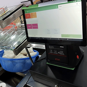 POS_System_Sale_Applied_For__Indonesian_Food_Store_At_Lucky_Plaza_Singapore_Simplus